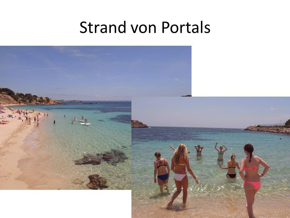Strand von Portals