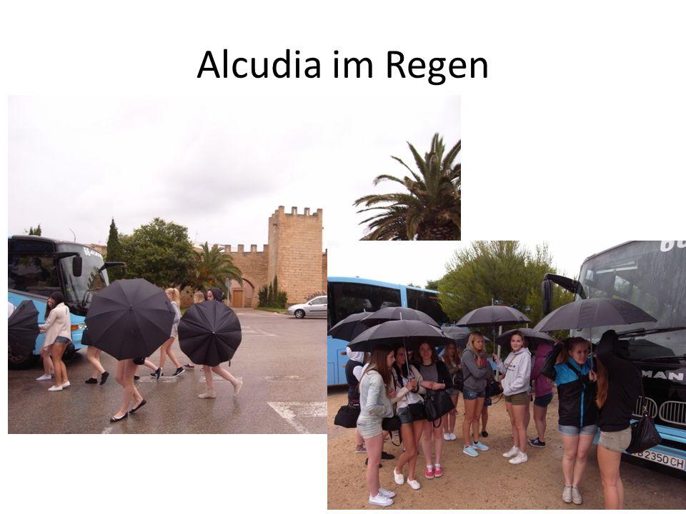Alcudia im Regen