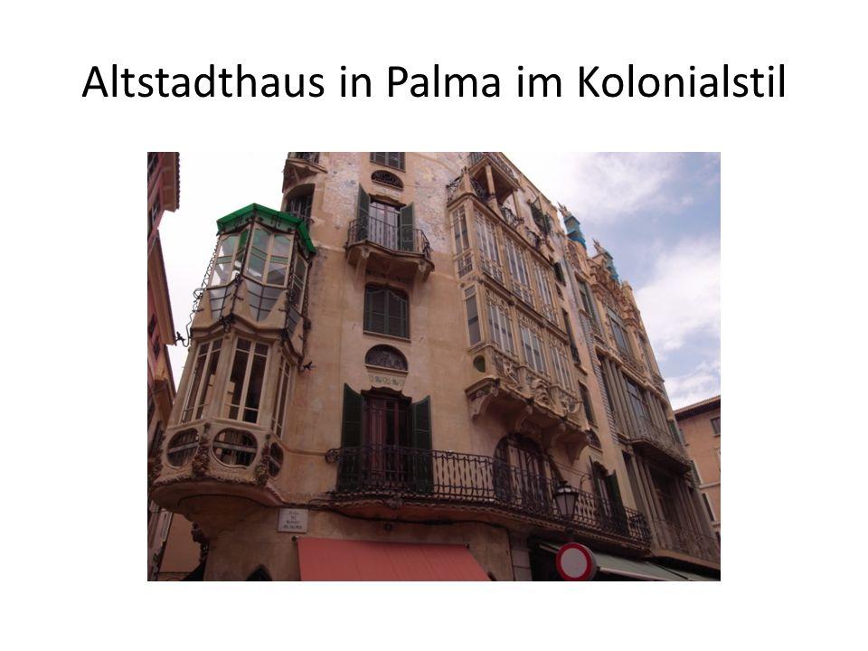 Altstadthaus in Palma im Kolonialstil
