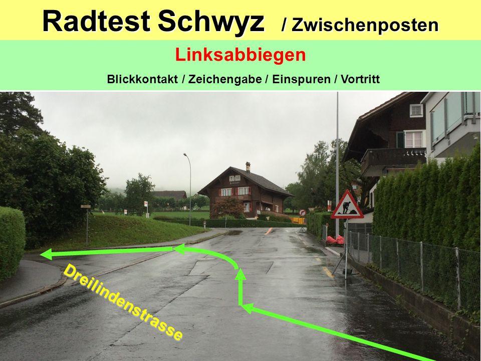 Radtest 2015 Auf Grund der Bautätigkeit in der Schlagstrasse Nietenbachbrücke, habe ich beschlossen, frühzeitig die Strecke dieses Jahr wie unten ange
