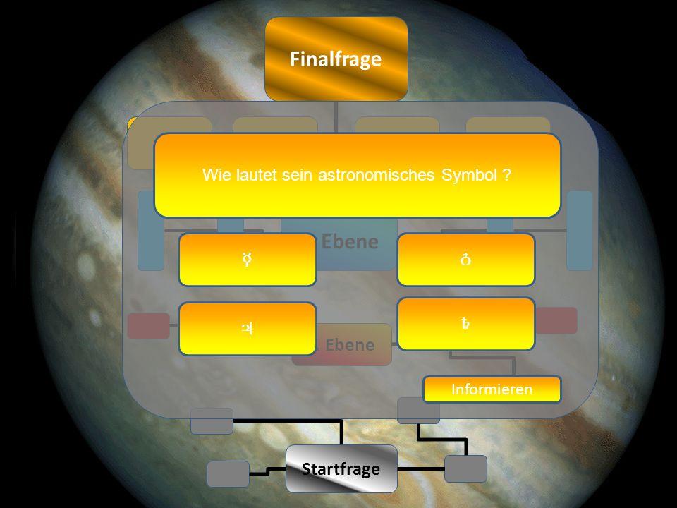 Finalfrage 1243 Startfrage 1. Ebene 2. Ebene Wie lautet sein astronomisches Symbol .