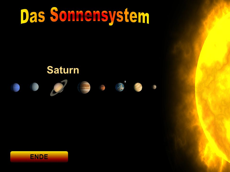 Saturn ENDE