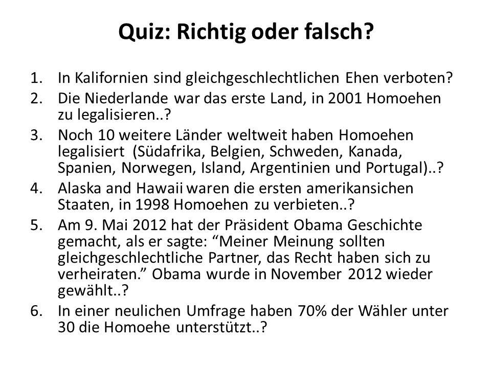 Die gleichgeschlechtliche Ehe In Deutschland haben gleichgeschlechtliche Paare derzeit kein Recht auf Eheschließung.