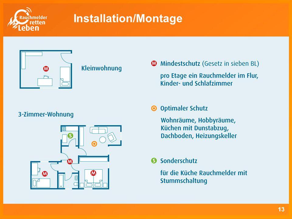 Installation/Montage 13