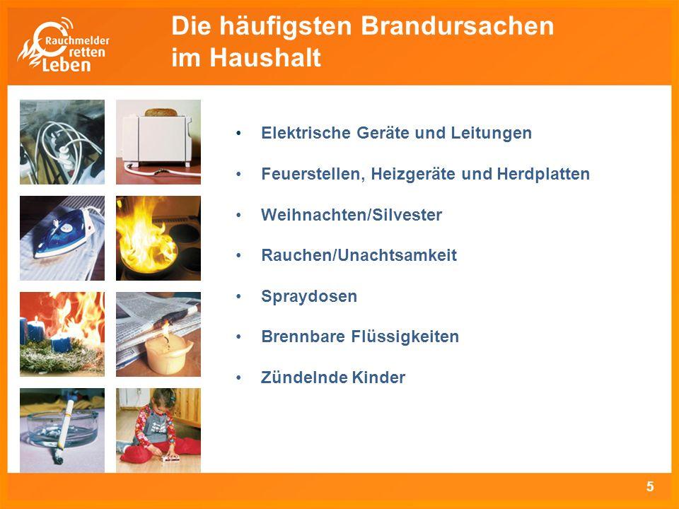 DIN-Norm Die Europäische Produktnorm DIN EN 14604 legt Anforde- rungen, Prüfverfahren sowie Leistungskriterien für Rauch- warnmelder fest.