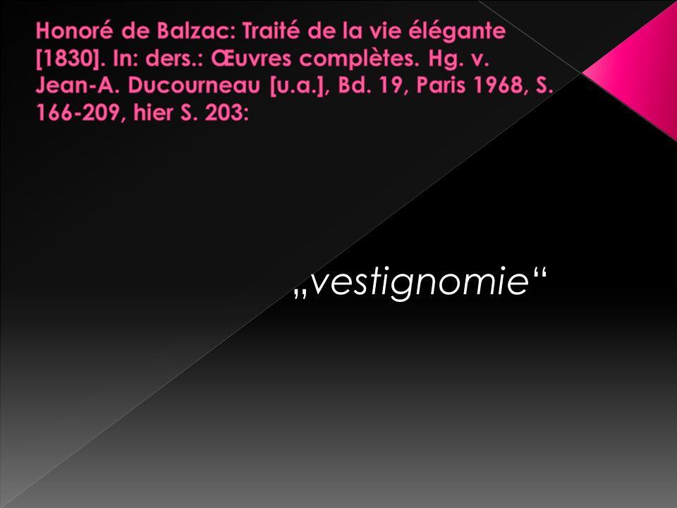 """""""vestignomie"""