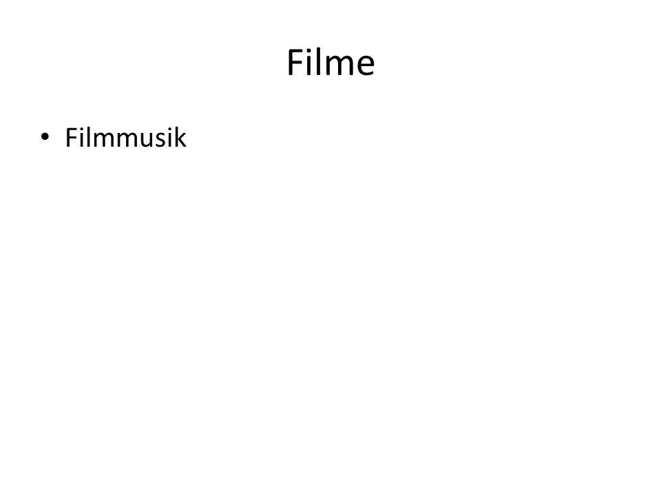 Filme Filmmusik