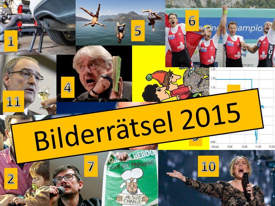 Bilderrätsel 2015