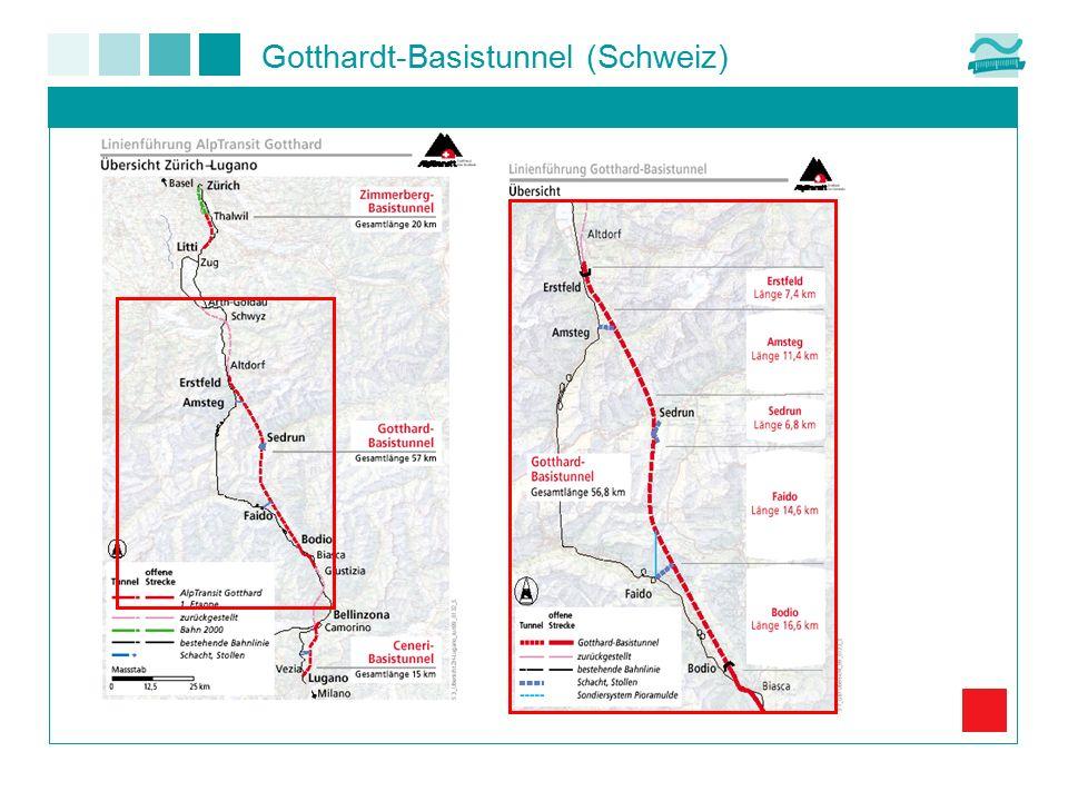 Gotthardt-Basistunnel (Schweiz)