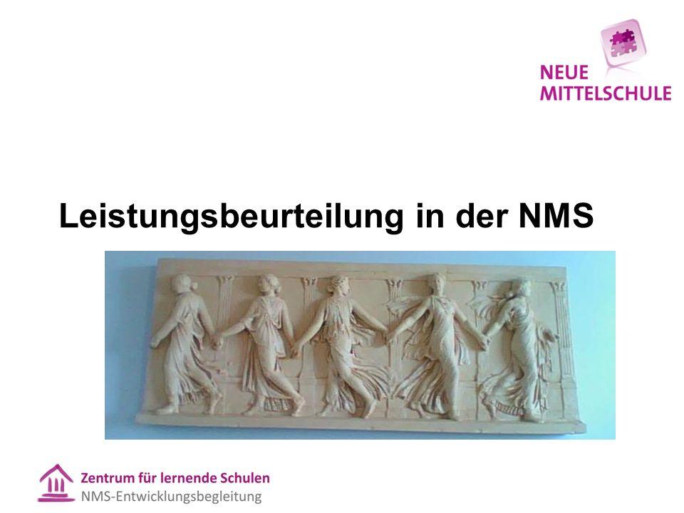 Leistungsbeurteilung in der NMS