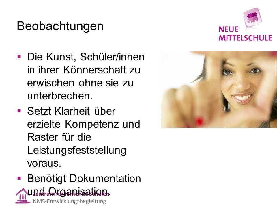 Mitarbeitsfeststellung: 3 Herausforderungen 1.Dokumentation 2.Organisation 3.Beurteilungskriterien