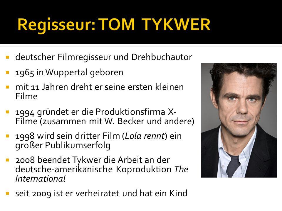  deutscher Filmregisseur und Drehbuchautor  1965 in Wuppertal geboren  mit 11 Jahren dreht er seine ersten kleinen Filme  1994 gründet er die Produktionsfirma X- Filme (zusammen mit W.
