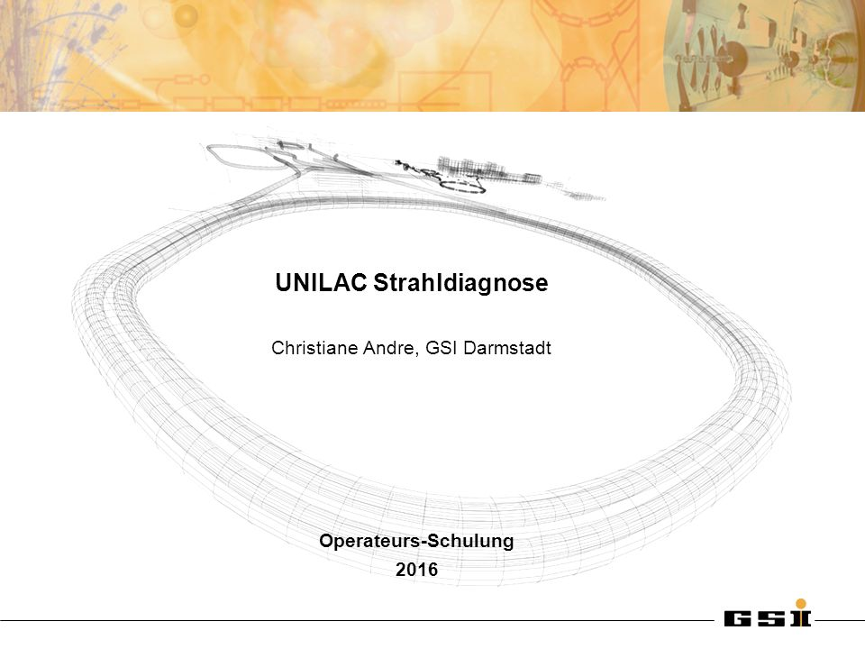 Christiane Andre UNILAC Strahldiagnose FAQ zu BIF...