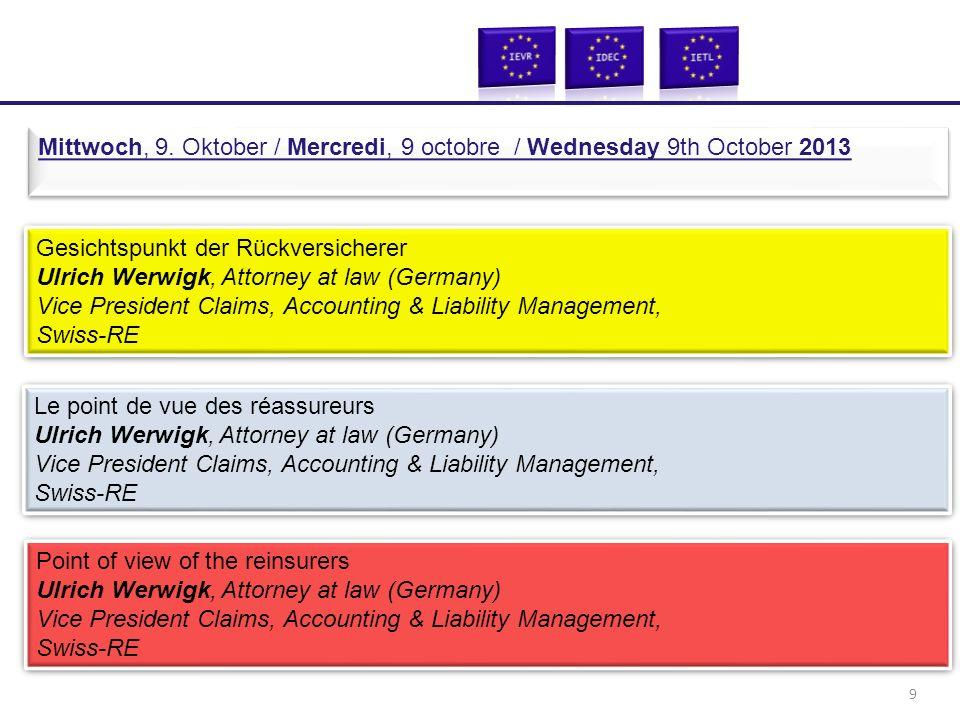 Workshop 1: UN-Charta: Rechte und Pflichten der Verkehrsteilnehmer RA Dr.
