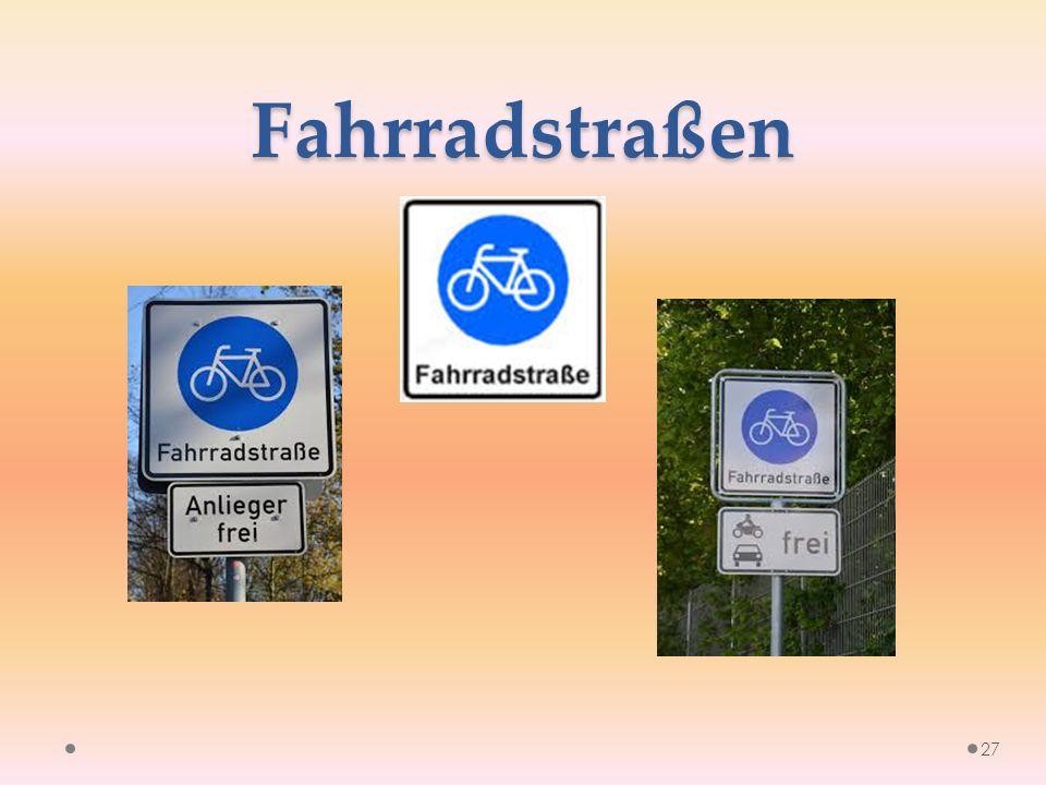 Fahrradstraßen 27