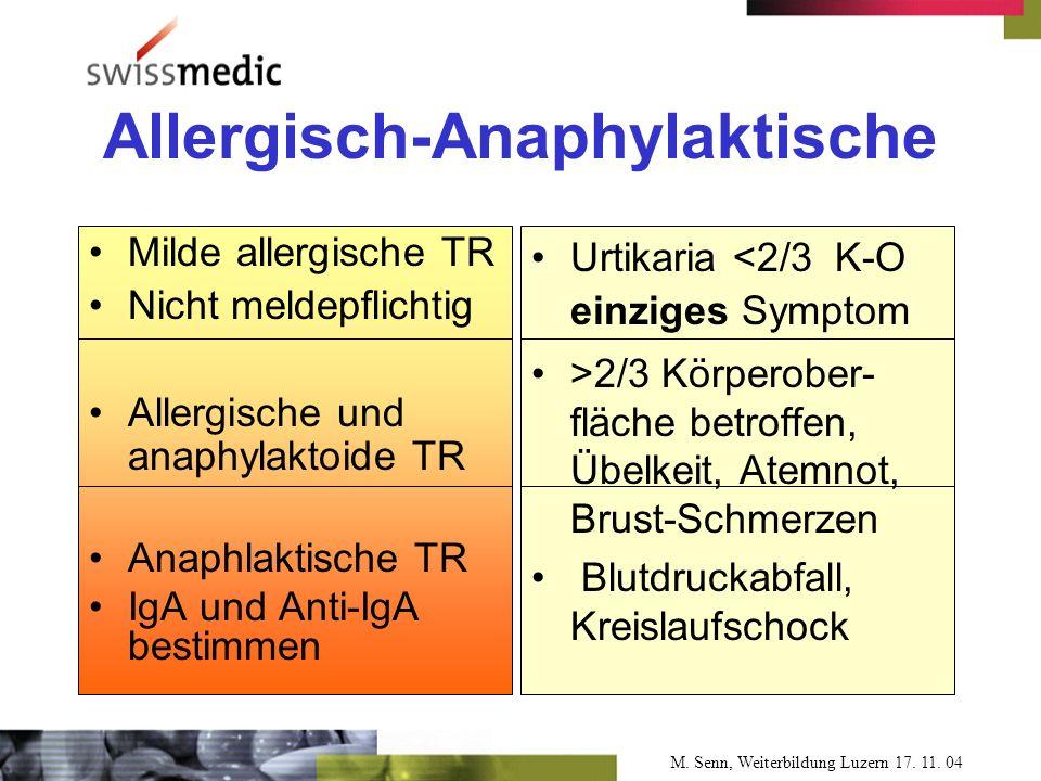 M. Senn, Weiterbildung Luzern 17. 11.