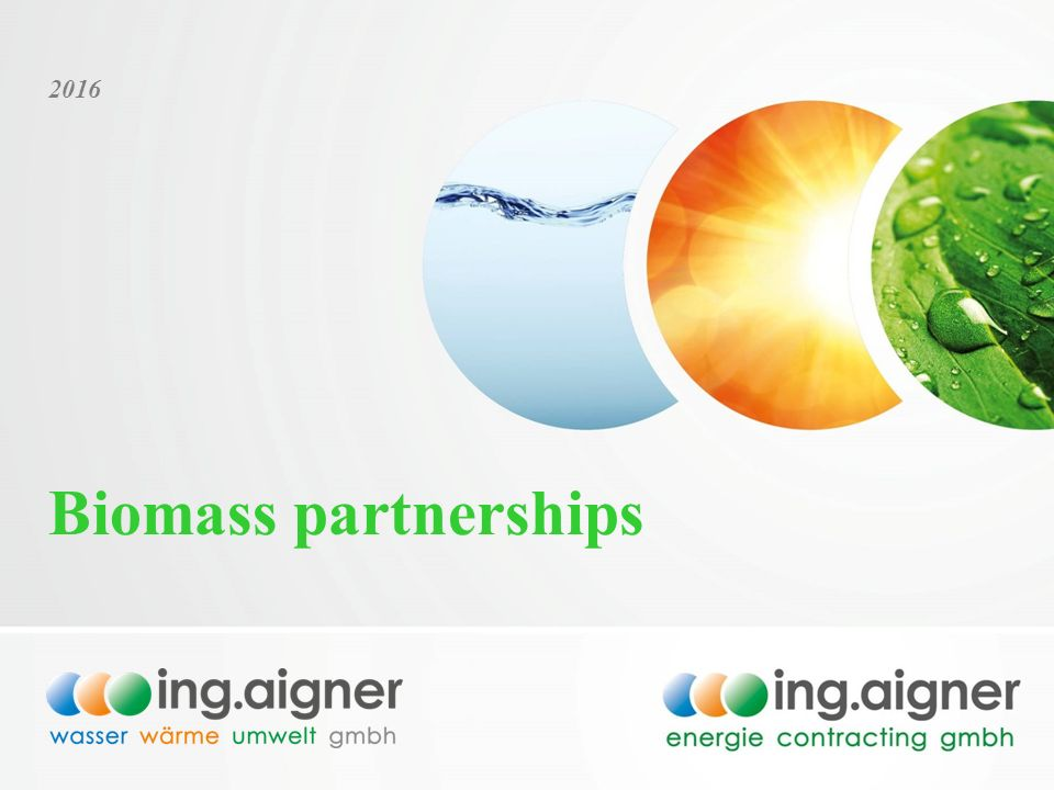 Biomass partnerships
