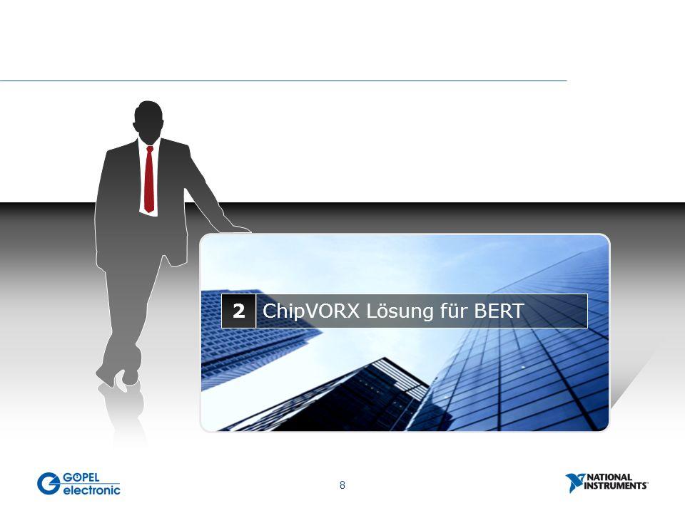 8 2ChipVORX Lösung für BERT