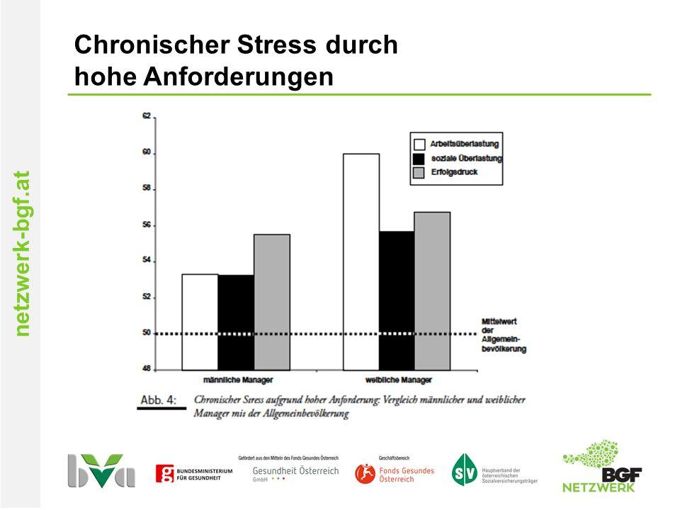 netzwerk-bgf.at Chronischer Stress durch hohe Anforderungen