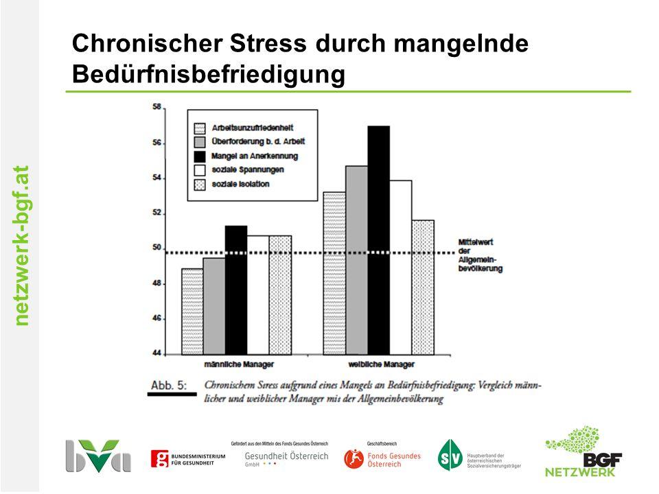 netzwerk-bgf.at Chronischer Stress durch mangelnde Bedürfnisbefriedigung