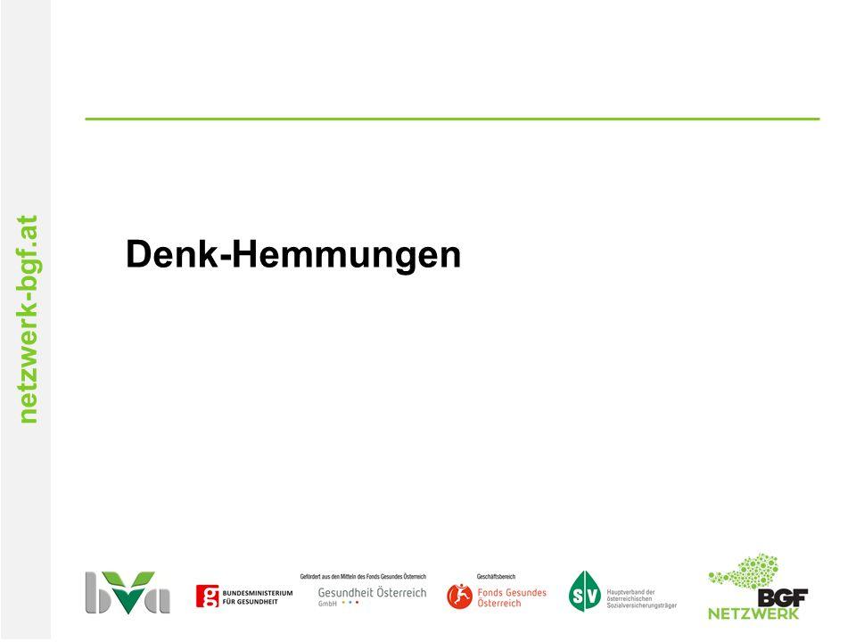 netzwerk-bgf.at Denk-Hemmungen