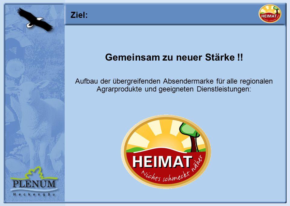 Ziel: Gemeinsam zu neuer Stärke !.