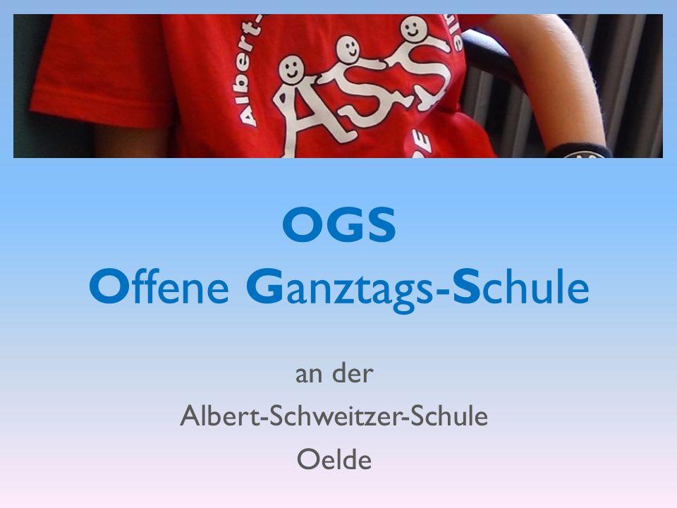OGS Offene Ganztags-Schule an der Albert-Schweitzer-Schule Oelde