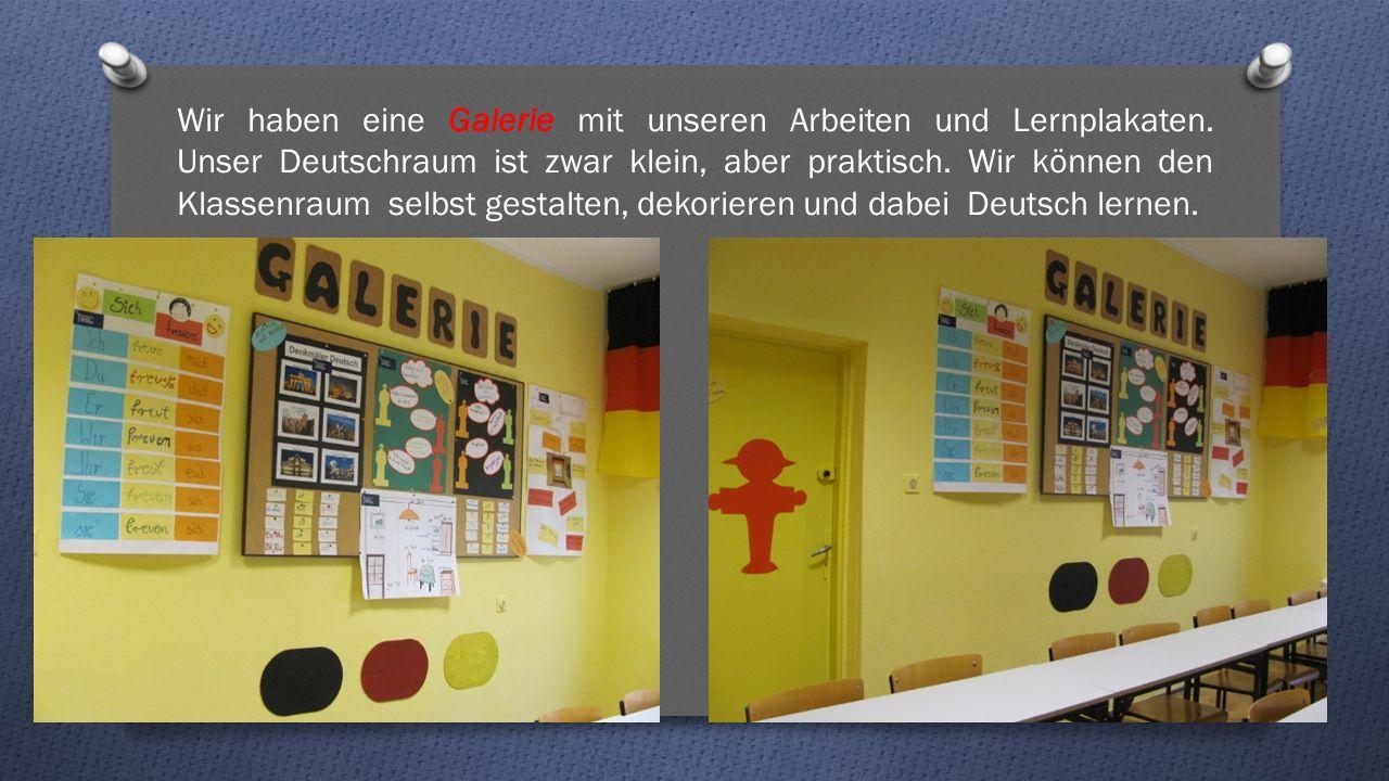 Wir haben eine Galerie mit unseren Arbeiten und Lernplakaten.