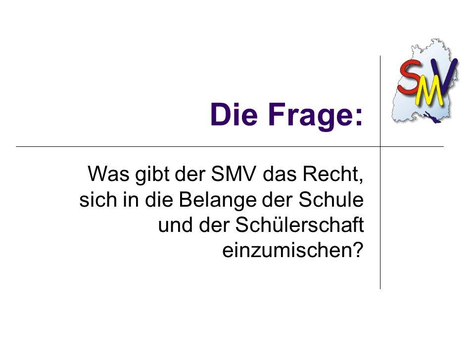 Wo gibt es die Infos? www.smv-bw.de www.lsbr.de www.jugendnetz.de