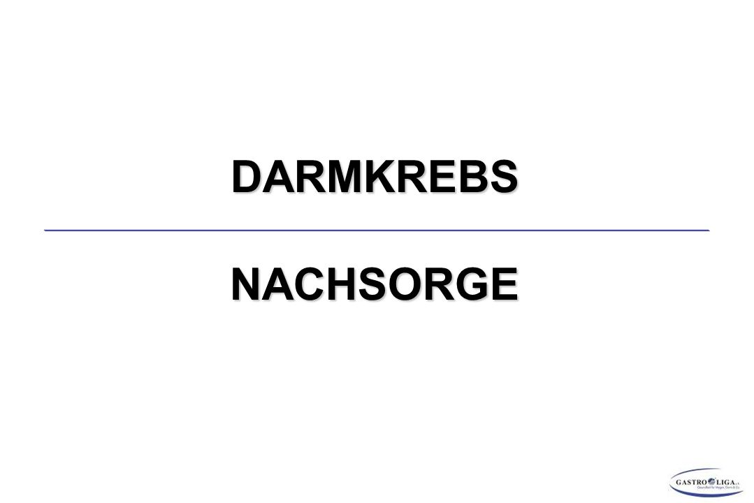 DARMKREBSNACHSORGE