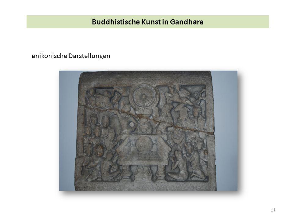 11 Buddhistische Kunst in Gandhara anikonische Darstellungen
