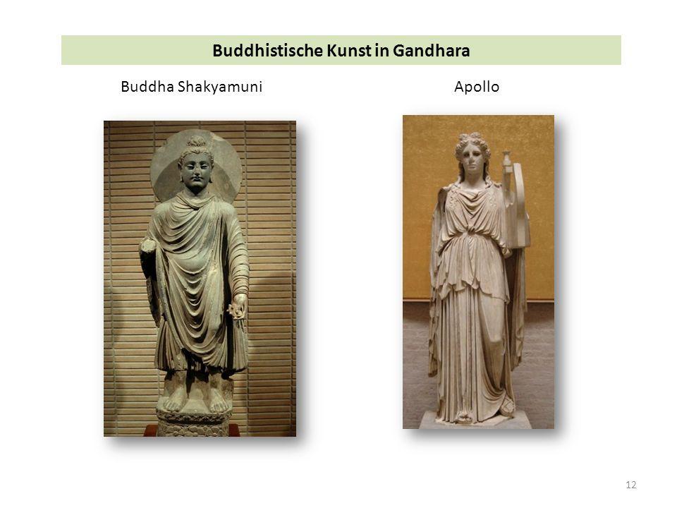 12 Buddhistische Kunst in Gandhara Buddha ShakyamuniApollo