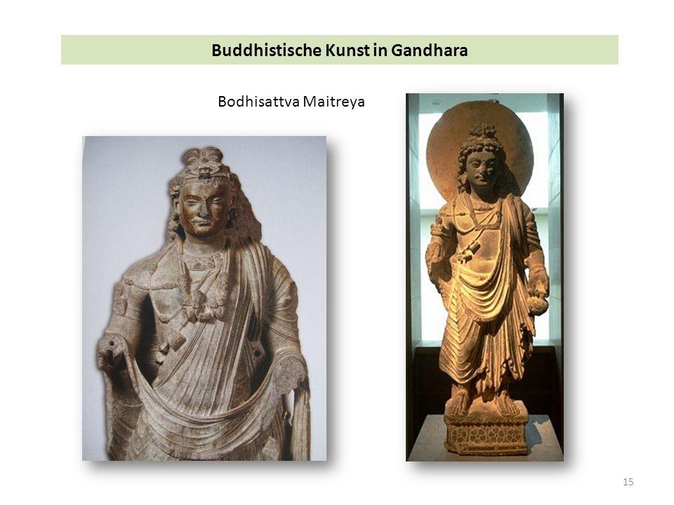 15 Buddhistische Kunst in Gandhara Bodhisattva Maitreya