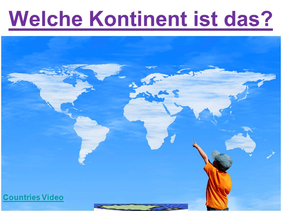 Welche Kontinent ist das? Countries Video