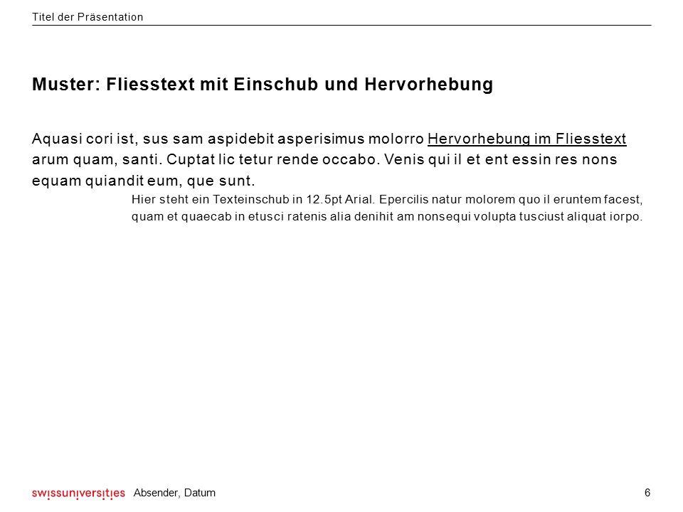 Dies ist die letzte Folie für abschliessende Worte. www.swissuniversities.ch