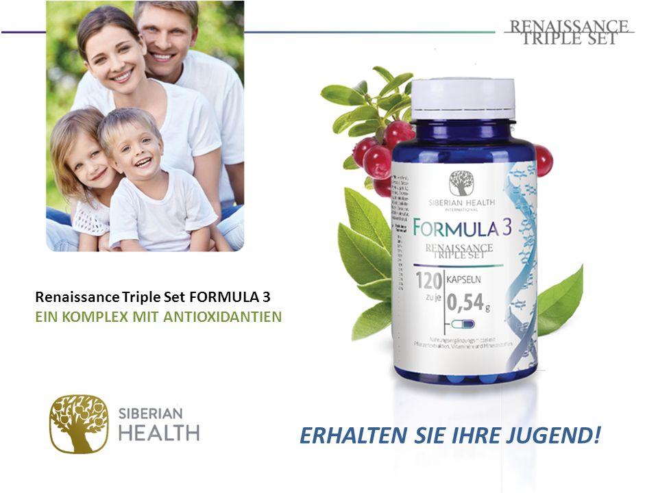  Enthält Spurenelemente und Vitamine, die die Zellen vor Oxidationsstress schützen.