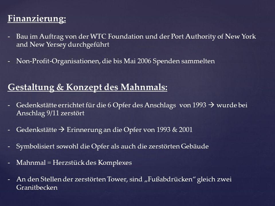 """Quellen: Internet: Welt.de, Focus.de, 911memorial.org Film: """" Ground Zero - Neubeginn nach dem 11."""
