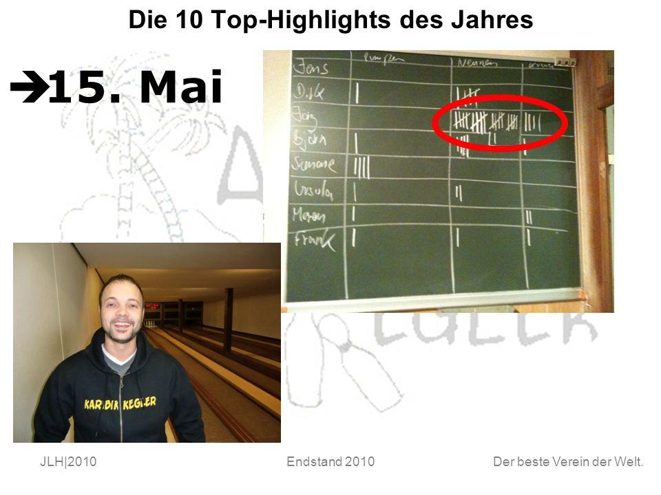 Der beste Verein der Welt. JLH|2010Endstand 2010 Die 10 Top-Highlights des Jahres  15. Mai