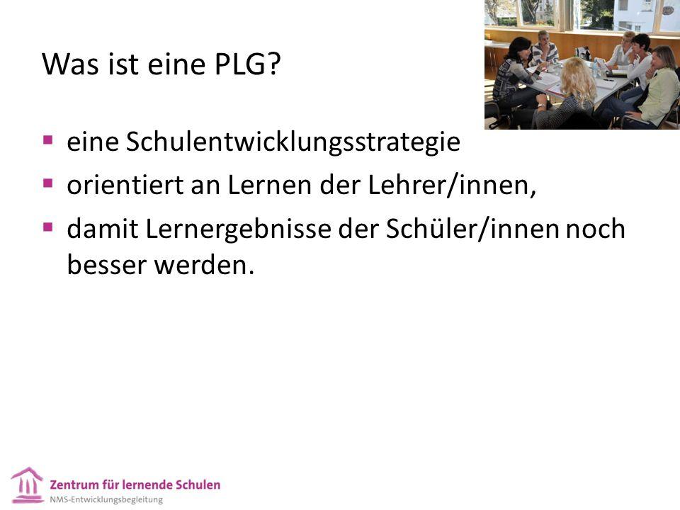 Was ist eine PLG.
