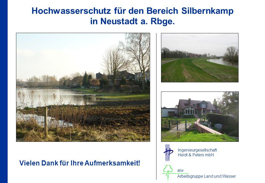 Hochwasserschutz für den Bereich Silbernkamp in Neustadt a.