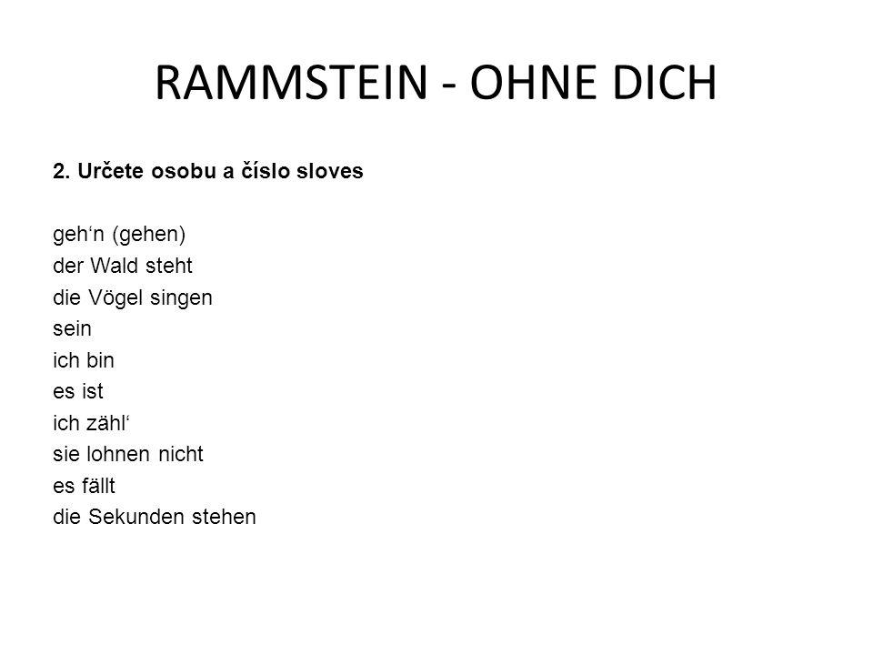RAMMSTEIN - OHNE DICH 2.