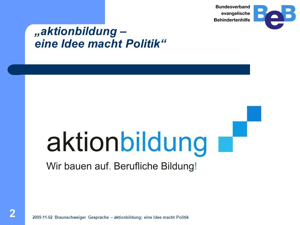 3 Projektträger / Projektpartner / Finanziers Projektträger Bundesverband evangelische Behindertenhilfe e.V.
