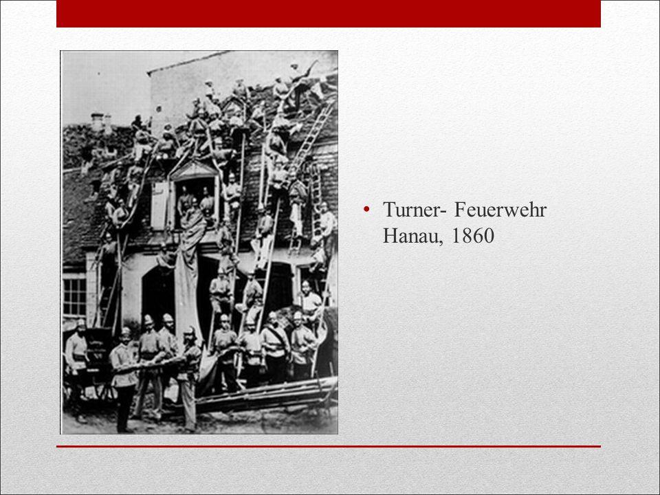 Turner- Feuerwehr Hanau, 1860
