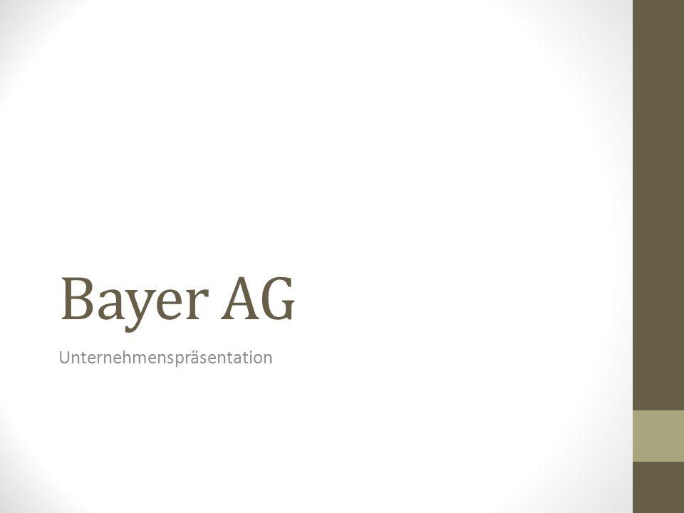 Bayer AG Unternehmenspräsentation