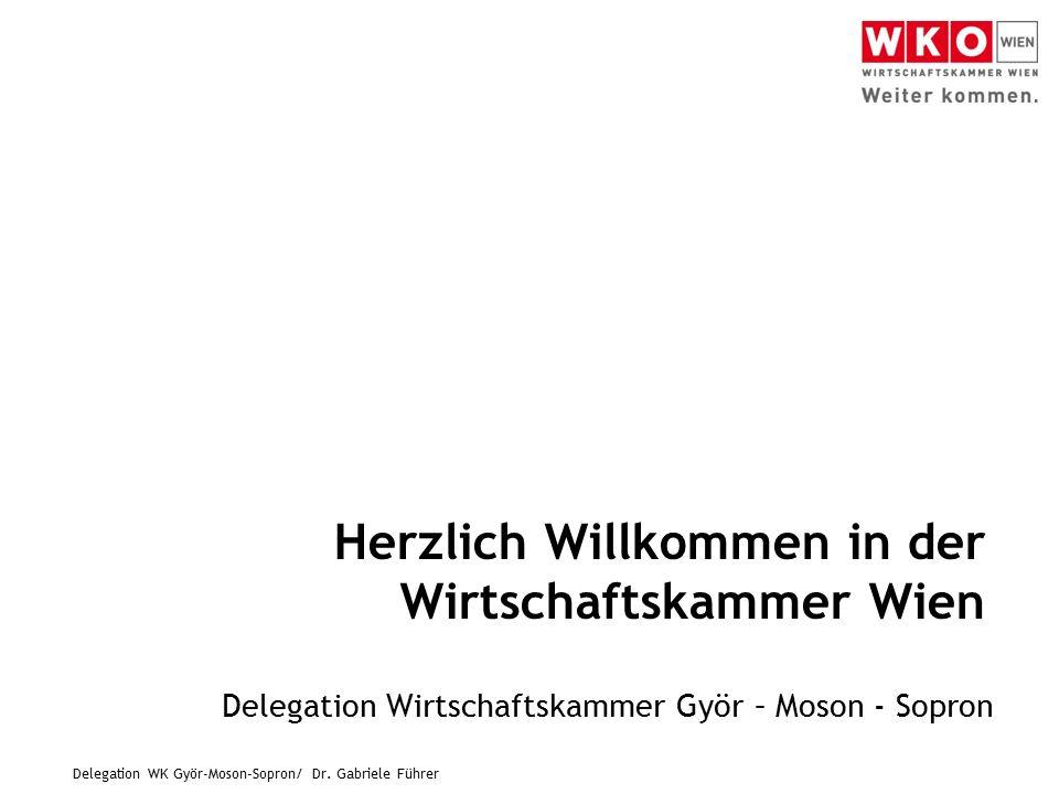 Delegation WK Györ-Moson-Sopron/ Dr.