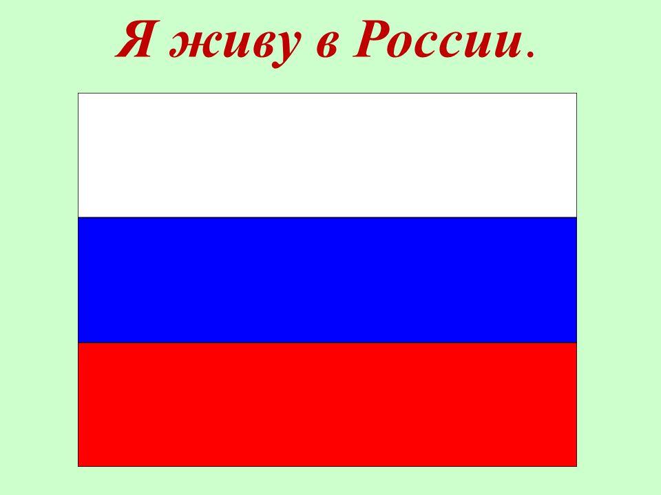Ich wohne in Russland. Я живу в России.
