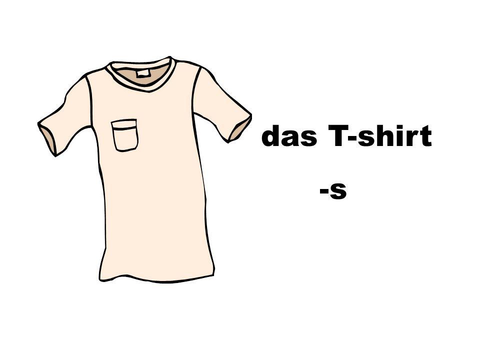 das T-shirt -s