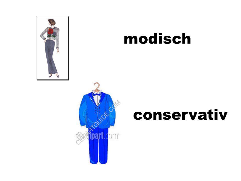 modisch conservativ