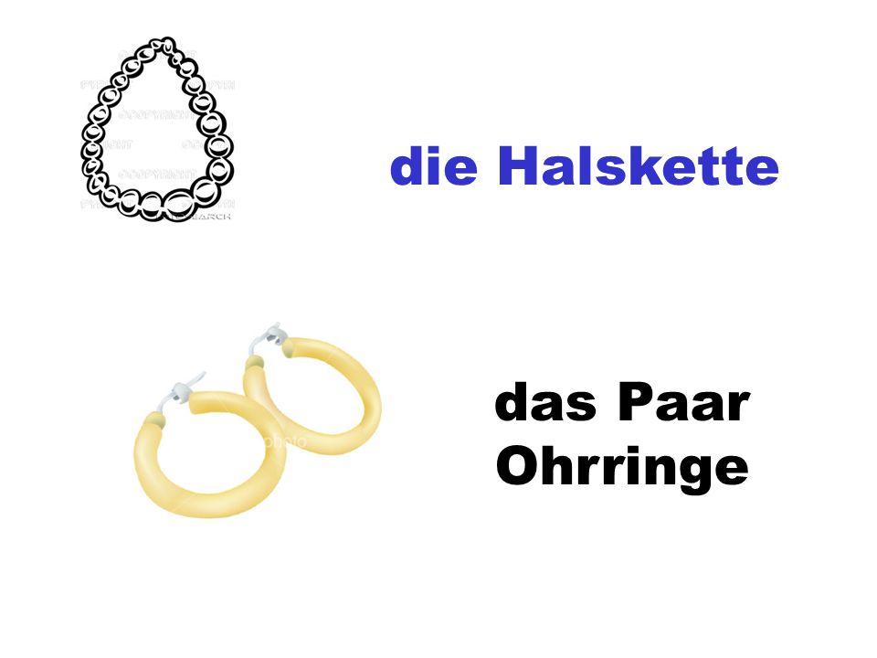 die Halskette das Paar Ohrringe