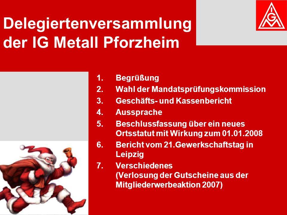 Bericht vom 21. Gewerkschaftstag der IG Metall in Leipzig von Sonja Sing
